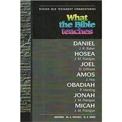 WTBT Daniel Hosea Joel Amos Obadiah Jonah
