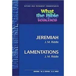 WTBT Jeremiah Lamentations